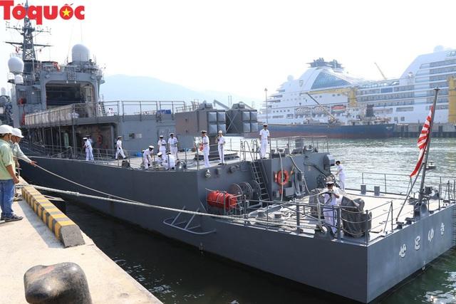 Hình ảnh hai tàu khu trục Nhật Bản cập cảng Tiên Sa - Đà Nẵng - Ảnh 15.