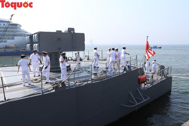 Hình ảnh hai tàu khu trục Nhật Bản cập cảng Tiên Sa - Đà Nẵng - Ảnh 16.