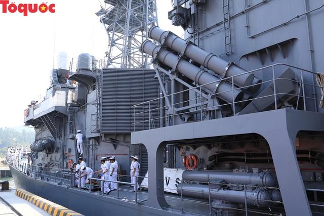 Hình ảnh hai tàu khu trục Nhật Bản cập cảng Tiên Sa - Đà Nẵng - Ảnh 10.