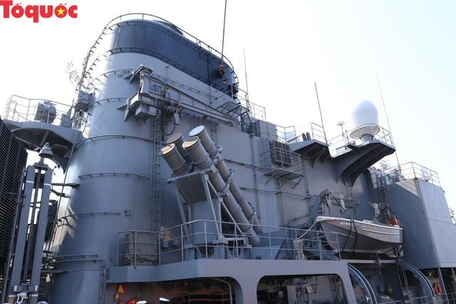 Hình ảnh hai tàu khu trục Nhật Bản cập cảng Tiên Sa - Đà Nẵng - Ảnh 12.