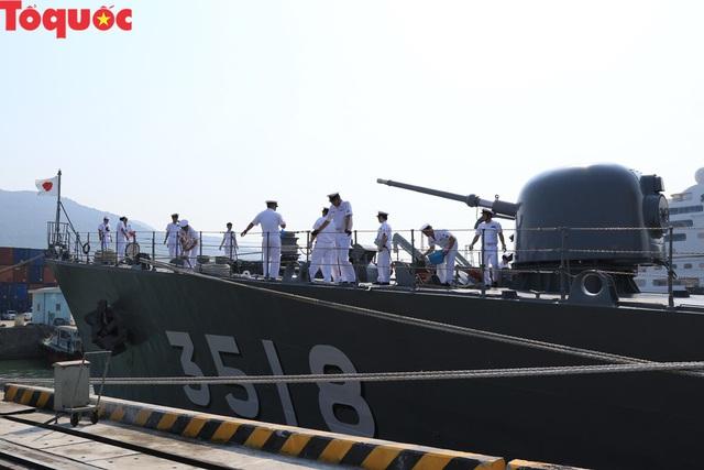 Hình ảnh hai tàu khu trục Nhật Bản cập cảng Tiên Sa - Đà Nẵng - Ảnh 18.