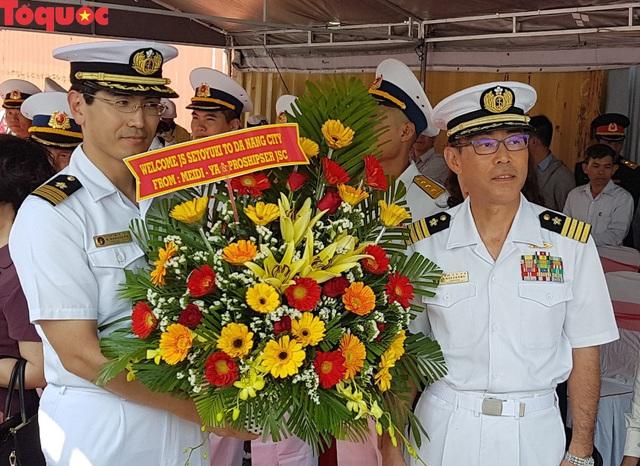 Hình ảnh hai tàu khu trục Nhật Bản cập cảng Tiên Sa - Đà Nẵng - Ảnh 3.