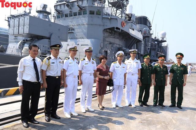 Hình ảnh hai tàu khu trục Nhật Bản cập cảng Tiên Sa - Đà Nẵng - Ảnh 5.