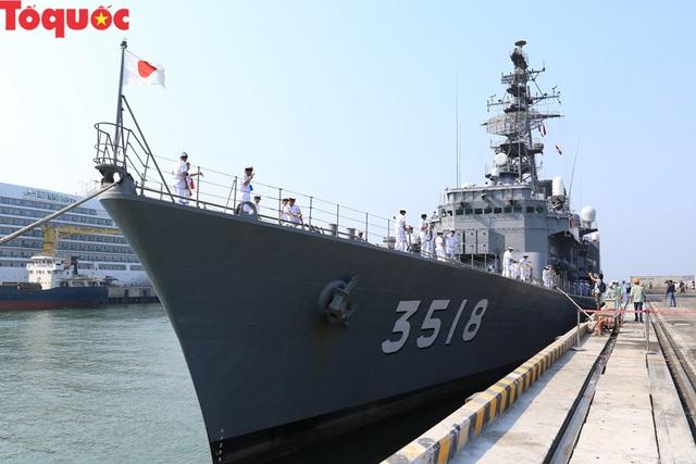 Hình ảnh hai tàu khu trục Nhật Bản cập cảng Tiên Sa - Đà Nẵng - Ảnh 6.