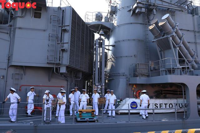 Hình ảnh hai tàu khu trục Nhật Bản cập cảng Tiên Sa - Đà Nẵng - Ảnh 9.
