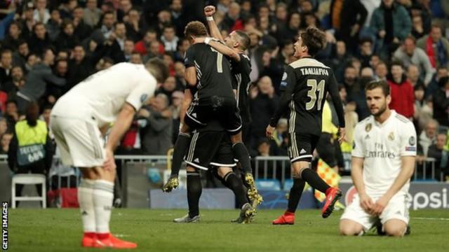 Dậy sóng Real gục ngã trước Ajax, bại trận tại Champions League - Ảnh 1.
