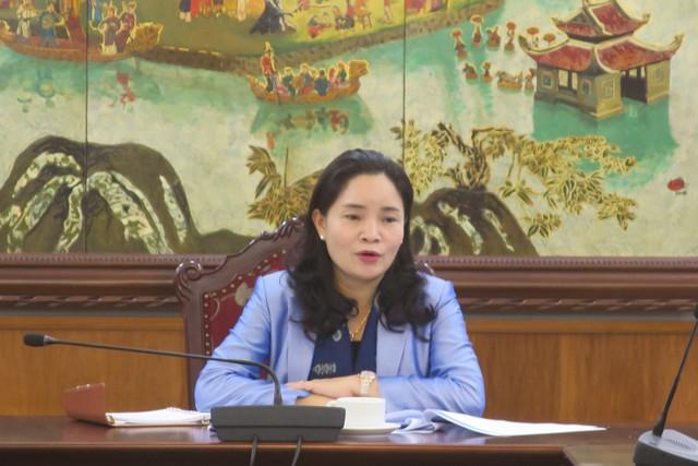 Thứ trưởng Trịnh Thị Thủy làm việc với Vụ Pháp chế về Dự thảo hai Thông tư - Ảnh 1.