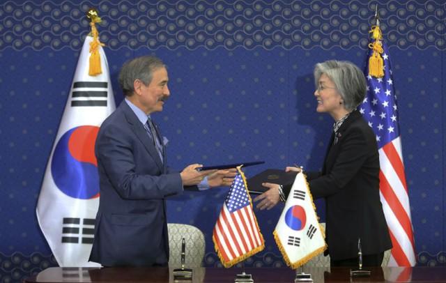Phá vỡ rào cản, Hàn Quốc chi mạnh cho quân đội Mỹ - Ảnh 1.