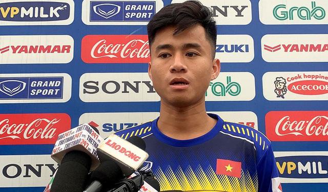 """Phan Thanh Hậu: """"Sự cạnh tranh ở U23 Việt Nam rất khắc nghiệt"""" - Ảnh 1."""