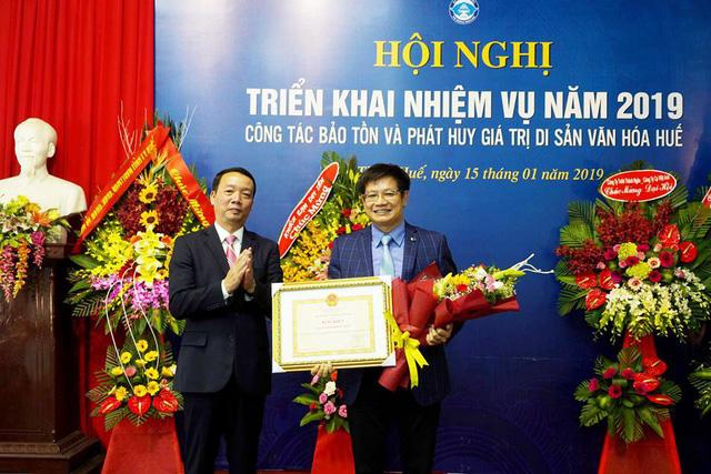 Sở Văn hóa và Thể thao Thừa Thiên Huế có tân giám đốc - Ảnh 1.