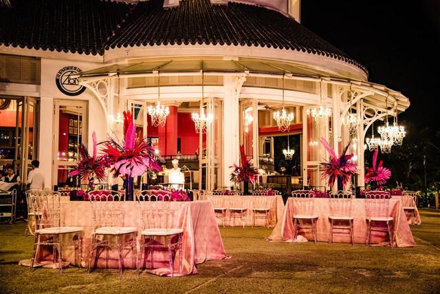 Cận cảnh bữa tiệc đầu tiên trong đại tiệc cưới của cặp tỷ phú Ấn Độ bên trong khu nghỉ dưỡng bên bãi Kem - Ảnh 11.