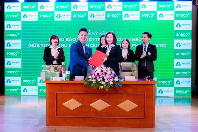 Tuyển thủ Quang Hải chính thức trở thành Đại sứ bảo vệ môi trường của AnEco - Ảnh 3.
