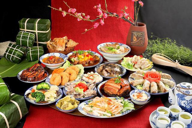 Mâm cơm giỗ Tổ Hùng Vương - nét đẹp văn hóa của người dân Phú Thọ - Ảnh 1.