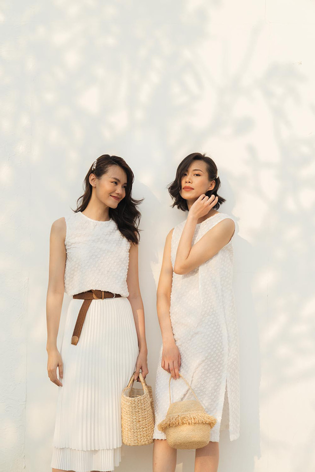 Những mẫu trang phục gây sốt dịp đầu hè của Tăng Thanh Hà - Ảnh 6.