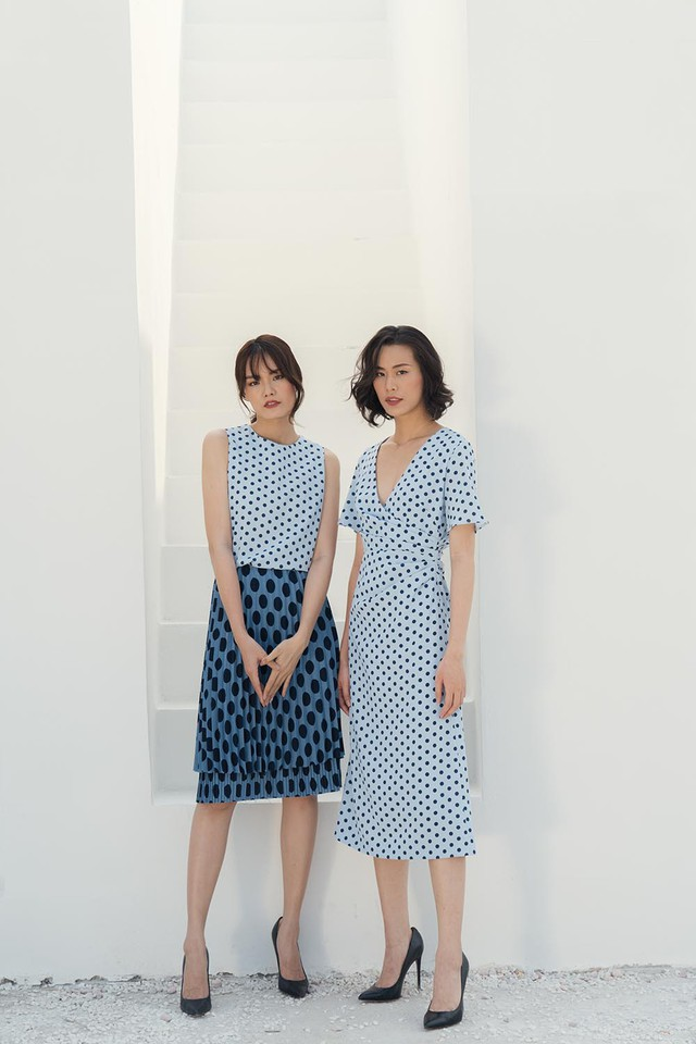 Những mẫu trang phục gây sốt dịp đầu hè của Tăng Thanh Hà - Ảnh 1.