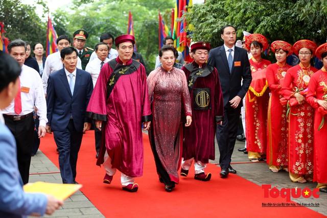 Lãnh đạo Đảng, Nhà nước dâng hương tưởng nhớ các Vua Hùng - Ảnh 5.