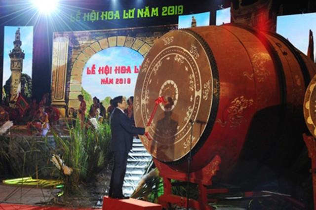 Khai mạc Lễ hội Hoa Lư 2019 với nhiều hoạt động đặc sắc - Ảnh 1.