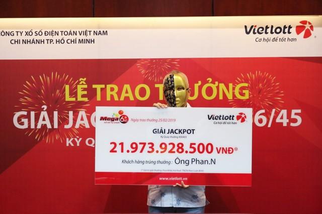 Tối qua, một người ẵm hơn 44 tỷ đồng từ trúng Vietlott - Ảnh 2.