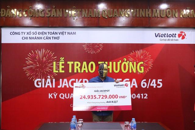 Tối qua, một người ẵm hơn 44 tỷ đồng từ trúng Vietlott - Ảnh 1.
