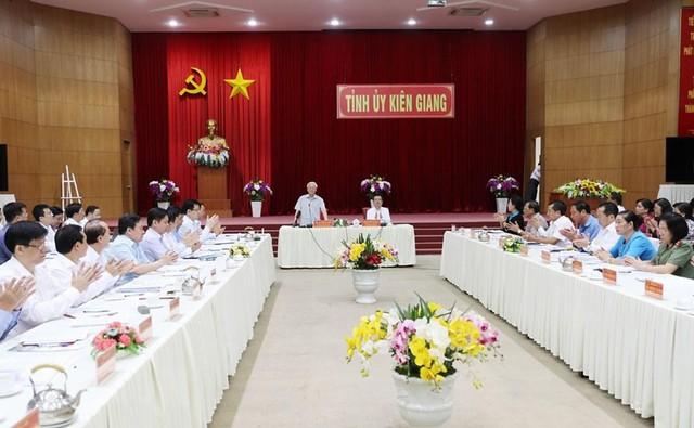 Hình ảnh Tổng Bí thư, Chủ tịch nước Nguyễn Phú Trọng tại Kiên Giang  - Ảnh 10.