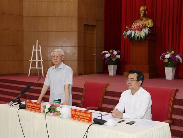 Hình ảnh Tổng Bí thư, Chủ tịch nước Nguyễn Phú Trọng tại Kiên Giang  - Ảnh 11.