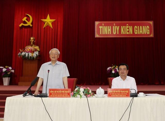 Hình ảnh Tổng Bí thư, Chủ tịch nước Nguyễn Phú Trọng tại Kiên Giang  - Ảnh 12.