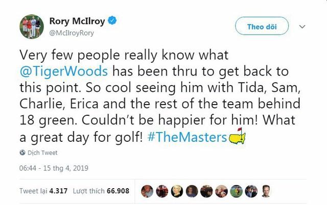 Tổng thống Trump, Obama và hàng loạt ngôi sao hân hoan chúc mừng chiến thắng của huyền thoại golf Tiger Woods trong giải Master 2019 - Ảnh 5.