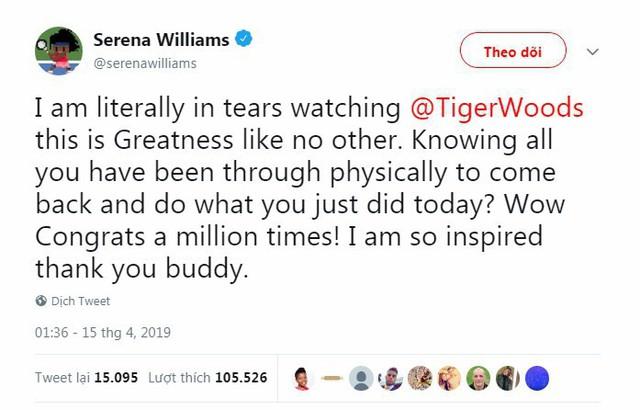Tổng thống Trump, Obama và hàng loạt ngôi sao hân hoan chúc mừng chiến thắng của huyền thoại golf Tiger Woods trong giải Master 2019 - Ảnh 8.