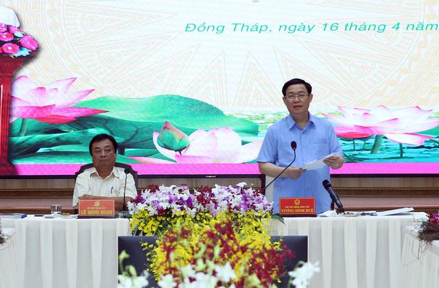 Tập trung đầu tư hạ tầng liên vùng qua tỉnh Đồng Tháp - Ảnh 1.
