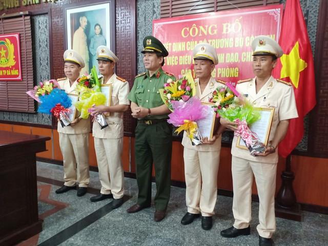 Công an Đà Nẵng công bố các Quyết định của Bộ Công an về công tác tổ chức cán bộ  - Ảnh 1.