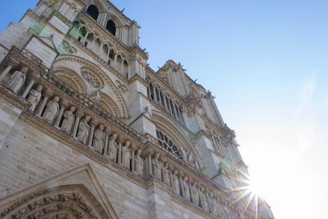 Đám cháy đã phá hủy Nhà thờ Đức Bà ở Paris: Nơi đây từng là biểu tượng của sự bình yên của cả nước Pháp - Ảnh 7.