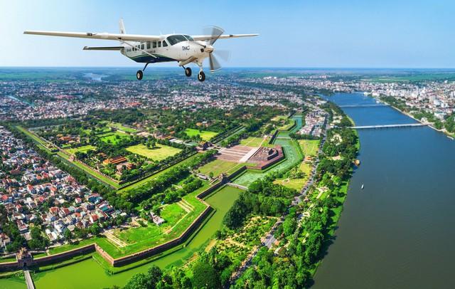 Mở chặng  bay mới Đà Nẵng - Huế bằng thủy phi cơ - Ảnh 1.