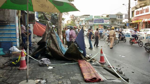 Thừa Thiên Huế: Cửa hàng xe đạp điện cháy lớn trong đêm, 3 người tử vong - Ảnh 2.