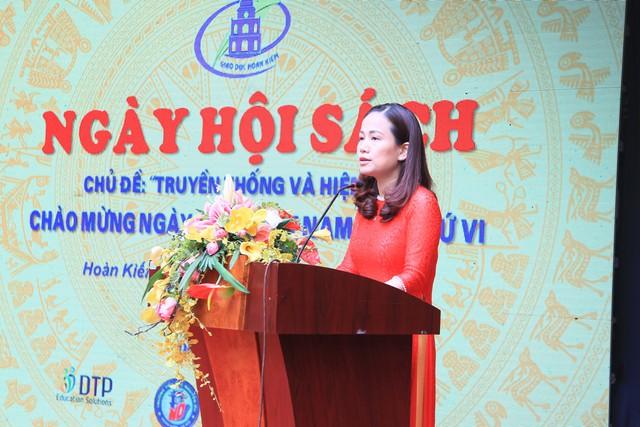 Tưng bừng Ngày Hội sách ngành giáo dục Quận Hoàn Kiếm 2019 - Ảnh 2.