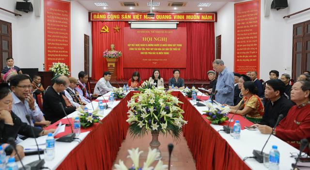Thứ trưởng Trịnh Thị Thủy: Cộng đồng đóng vai trò rất lớn trong công tác bảo tồn, phát huy các giá trị văn hóa dân tộc - Ảnh 1.