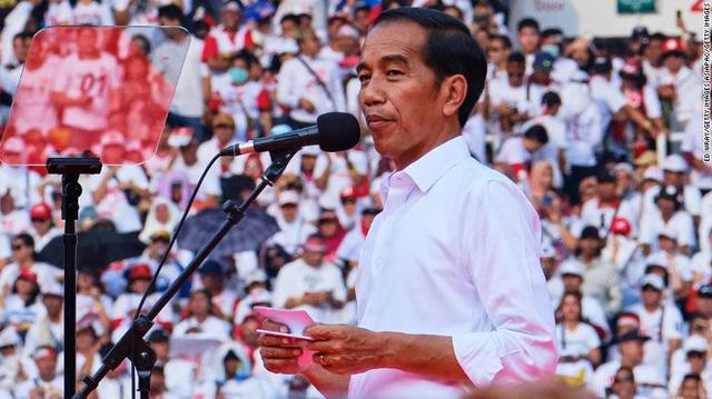 Joko Widodo dẫn đầu kết quả bầu cử Indonesia: cách biệt thấp hơn mong đợi - Ảnh 1.