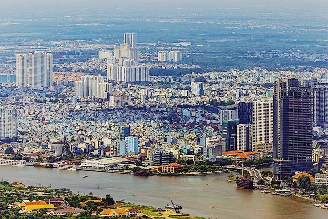 """Hé lộ hình ảnh """"độc nhất vô nhị"""" đầu tiên từ đài quan sát cao nhất Đông Nam Á giữa Sài Gòn - Ảnh 3."""