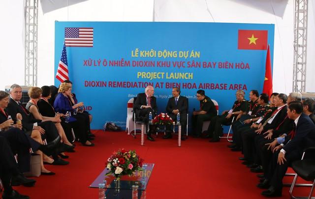 Việt Nam- Hoa Kỳ khởi động dự án xử lý dioxin ở điểm nóng ô n- hiễm lớn nhất Việt Nam - Ảnh 2.