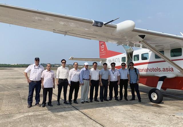 Sắp khai trương đường bay Đồng Hới – Đà Nẵng và dịch vụ bay ngắm cảnh ở Quảng Bình - Ảnh 1.