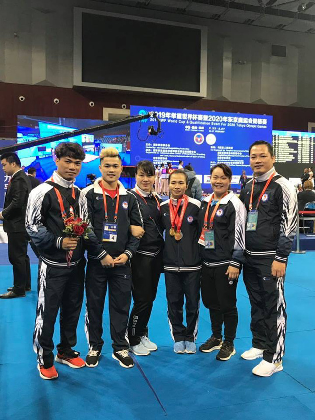 Cử tạ Việt Nam giành 3 HCV tại Giải vô địch cử tạ châu Á - Ảnh 1.