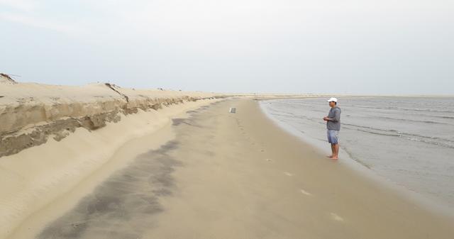 Tình tiết mới về hiện tượng chưa thể lý giải đảo cát nổi giữa vùng biển Hội An  - Ảnh 4.