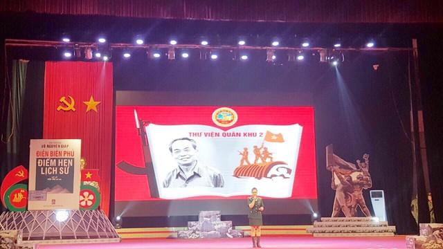 Khai mạc Liên hoan cán bộ thư viện tuyên truyền giới thiệu sách - Chào mừng Kỷ niệm 65 năm chiến thắng Điện Biên Phủ - Ảnh 3.