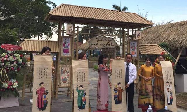 Giới thiệu bộ sưu tập các dòng tranh dân gian truyền thống Việt Nam - Ảnh 1.