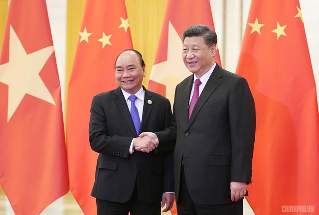 Thủ tướng hội kiến Tổng Bí thư, Chủ tịch Trung Quốc Tập Cận Bình - Ảnh 1.