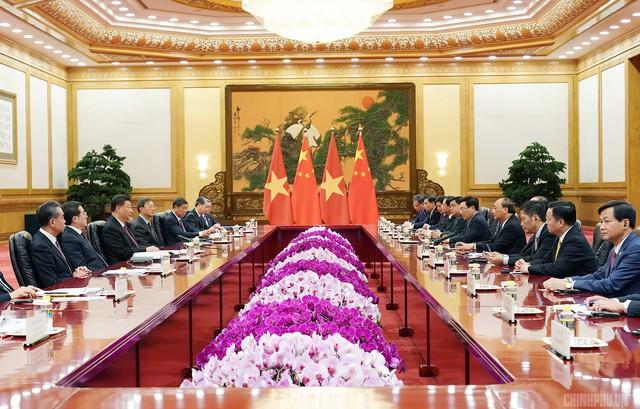 Thủ tướng hội kiến Tổng Bí thư, Chủ tịch Trung Quốc Tập Cận Bình - Ảnh 2.