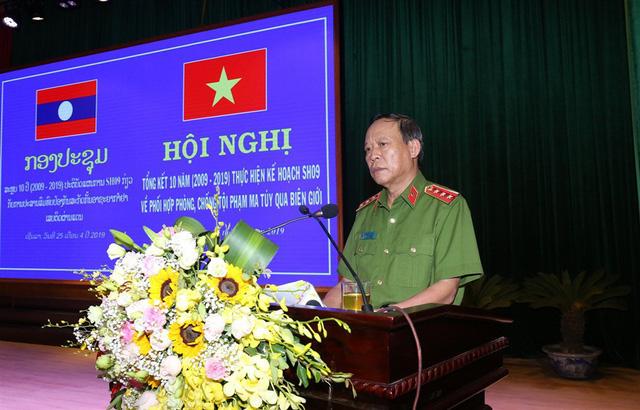 Tăng cường phối hợp phòng chống tội phạm ma túy qua biên giới Việt Nam – Lào - Ảnh 1.
