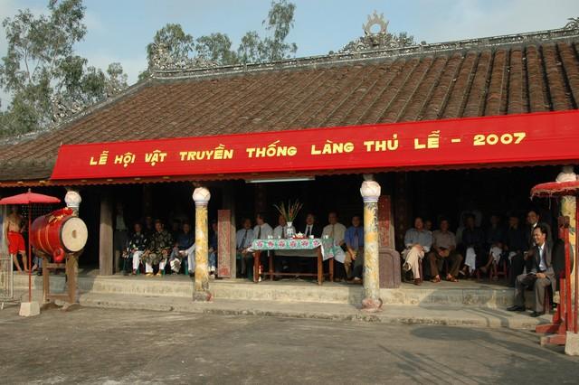 Thừa Thiên Huế: Hoàn thành tu bổ, tôn tạo Đình Thủ Lễ - Ảnh 1.
