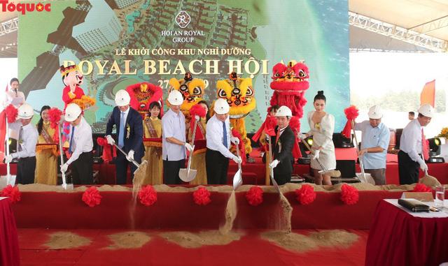 Khởi công khu nghỉ dưỡng Hội An Royal Beach Resort - Ảnh 1.