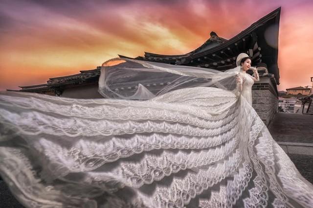 Ốc Thanh Vân khoe ảnh cưới chụp tại Hàn Quốc, vô tình để lộ hình xăm gợi cảm - Ảnh 10.