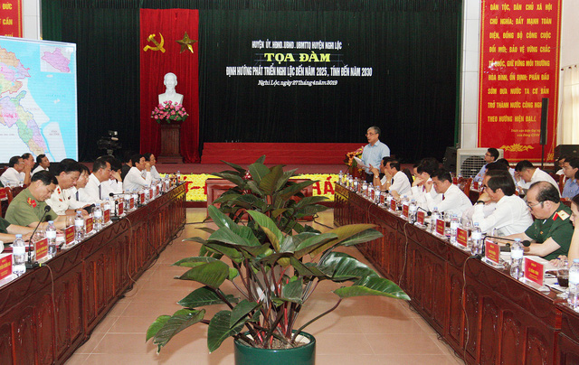 Phó Thủ tướng Vương Đình Huệ:  Đưa Nghi Lộc trở thành vùng trọng điểm phát triển kinh tế của Nghệ An - Ảnh 2.